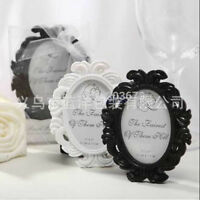 Resin Baroque Photo Picture Frame Wall Door Frame Home Decorations Oval New Hot