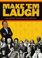 MAKE 'EM LAUGH: THE FUNNY BUSINESS OF AMERICA Factory Sealed NEW DVD