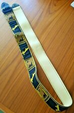 "Fender Vintage Guitar Strap Embroidered Ace 70s Style 52"" max strap length"