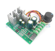 PWM 30A  Motor Speed Controller Module Dimmer Current Regulator+ Display DC6-60V