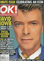 Ok Magazine David Bowie Golden Globes Sam Faiers Peter Andre Kate Middleton 2016