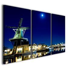 Quadri moderni città landscape Haarlem stampe su tela canvas ® quality