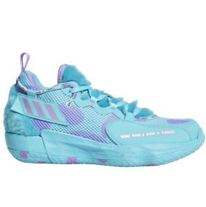 Adidas Dame 7 EXTPLY Sulley Monsters GX3442 Turquoise Basketball Shoes Sneakers