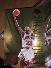 Michael Jordan Larger Than Life Bgs-psa Possible Foil 90's Insert💯😇✅