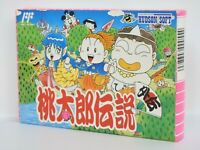 Famicom PEACH BOY DENSETSU GAIDEN Unused Condition Ref 95 NINTENDO fc