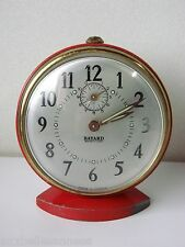 ANTIQUE ALARM CLOCK ROUND BAYARD A REPETITION / PENDULUM MOVEMENT OLD