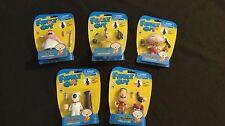 Lot of 5 Family Guy figures create-a-figure set