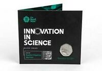 2019 STEPHEN HAWKING 50p COIN BRILLIANT UNCIRCULATED ROYAL MINT SEALED PACK