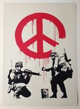 BANKSY -  CND SOLDIERS - SCREEN PRINT