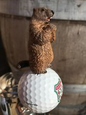 Caddyshack Golf TAP HANDLE Gopher Beer Keg Bushwood Country Club Titleist Ball