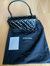 Chanel Top Handle Flap Bag - VINTAG