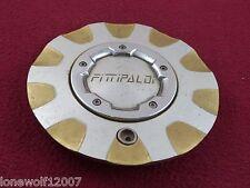 Fittipaldi Wheels Silver Custom Wheel Center Cap # M518 (1)