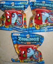 ZOMLINGS IN THE BIG TOWN - SERIES 5 - ZOMLING+ CITY TOWER - 3 SEALED PACKS