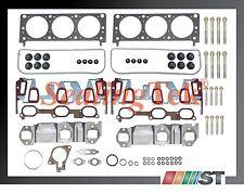 Fit 04-05 GM 3400 3.4L 207 V6 VIN E Cylinder Head Gasket Set w/ Bolts Kit engine
