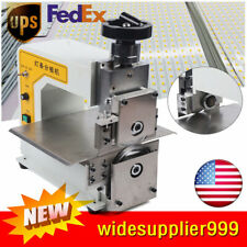 Pcb V-Cut Groove Separator Light Strip Separating Cutting Sub-board Machine 110V