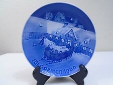 1969 Bing and Grondahl B & G Christmas Plate Christmas Guest Mint Condition