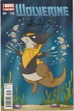 WOLVERINE #1 SIGNED KATIE COOK ANIMAL VARIANT ALL-NEW MARVEL NOW 2014 NEW/UNREAD