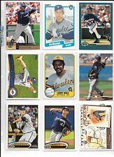 Prince Fielder plus 8 more Milwaukee Brewers Baseball card lot