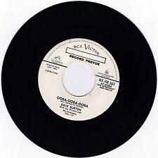 ROCKABILLY 45RPM - DAVE BURTON ON RCA - RARE PROMO!  BEAUTIFUL COPY!!!