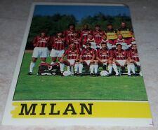 FIGURINA CALCIATORI PANINI 1994/95 MILAN SQUADRA 207 ALBUM 1995