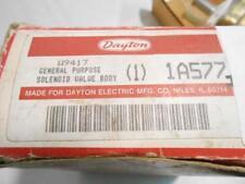 "Grainger Dayton 1A577, W9417 Valve body 1/2"" NPT NC"