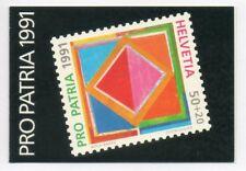 SWITZERLAND / SVIZZERA 1991 - PRO PATRIA LIBRETTO/BOOKLET MNH**