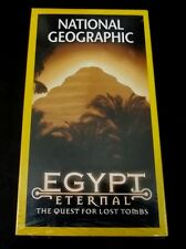 National Geographic VHS Egypt Eternal The Quest for Lost Tombs  2002 60 Minutes