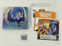 Jeu Nintendo 3DS VF  Pokemon Moon Lune Steelbook  Envoi rapide et suivi