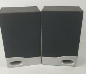 """9"""" Bookshelf Speakers, pair, black , 8 ohms, 3.5mm Jack plug"""
