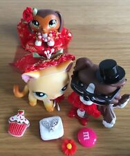 14 accessori LPS Abito da sposa Set ornamentale velo Fiocchi Torte (LPS Pets esclusi