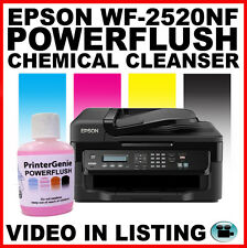Epson WF-2520NF Testina di stampa per pulizia ugello cleanser. Break Through