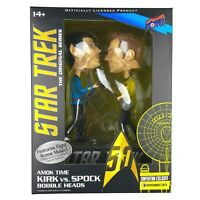 Star Trek TOS KIRK vs SPOCK Amok Time Bobble Head Exclusive Figures With Sound