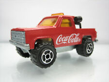 Diecast Majorette Depanneuse Coca Cola No. 291 Red Very Good Condition Rare