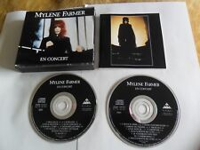 Mylene Farmer - En Concert (2CD FAT BOX 1989) France Pressing