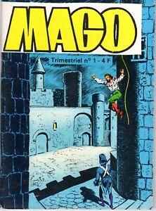 MAGO 1  (aventures de CAGLIOSTRO) JEUNESSE ET VACANCES  1980 SUPERBE ETAT