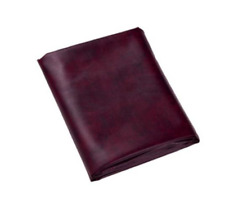 """7A Wine Hood Fitted Pool Table Cover  50""""x90"""" - Double Sewn Seams"""