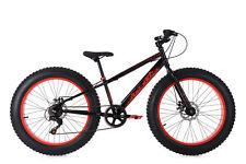 Fatbike 24'' Mountain Bike Kinder SNW2458 schwarz-rot RH 33 cm KS Cycling 237M