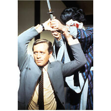 Secret Agent Danger Man Patrick McGoohan Holding Sword 8 x 10 Inch Photo