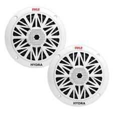 Pyle - PLMR52 - Pair of 150 Watts 5.25'' 2 Way White Marine Speakers