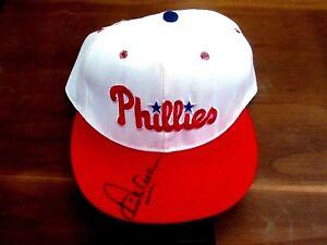 DICK ALLEN 1972 MVP ROY PHILLIES WHITE SOX SIGNED AUTO PRO LINE CAP HAT JSA