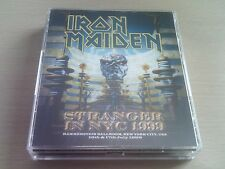 IRON MAIDEN - STRANGER IN NYC 1999 - LIVE 4 x CD - ED HUNTER TOUR - FREE POST