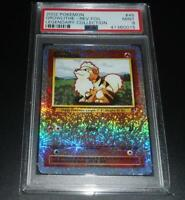 PSA 9 MINT Growlithe 45/110 Legendary Collection REVERSE HOLO Pokemon Card