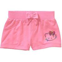 Girls Hello Kitty Knit Shorts