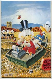 Uncle Scrooge 400 Deluxe Edition Virgin Carl Barks Cover