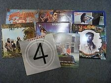 8x Vinyl LP's - 2x Gerry Rafferty, BA Robertson, Fish, Foreigner, America etc..
