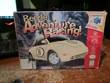 Beetle Adventure Racing Nintendo 64 N64 Game Working 1999 Complete W/Box Manual