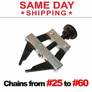 Roller Chain Connecting Puller Holder Tool #25 35 40 41 50 60 420 415 415H #
