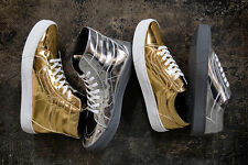SUPER RARE VANS OLD SKOOL CUP METAL GOLD OLYMPIC SPECIAL SZ US M 9.5 US W 11