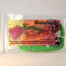 MonkeyfingeR Krazy Klown Yo-Yo String - 6 Count - Green