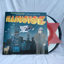 Sufjan Stevens Illinois BLUE MARVEL 3x Vinyl LP Record illinoise carrie & lowell